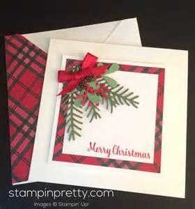 simple pretty pines card idea stin pretty