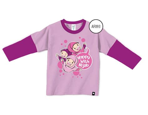 Afrakids Kode 117 L happy with ungu panjang miulan store