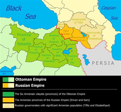 why is the ottoman empire important russian armenia wikipedia