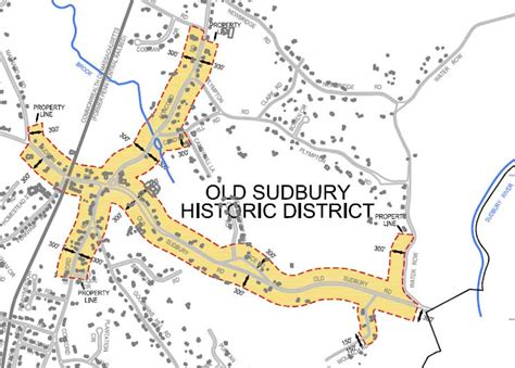 sudbury s historic districts 187 historic districts commission