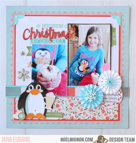 christmas layout design inspiration 12 best jana s christmas winter projects images on