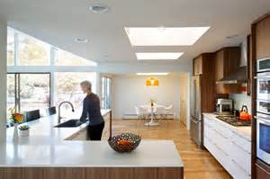 L Shaped Kitchen Floor Plans With Island hornstein residence midcentury kitchen denver by