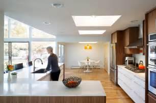 hornstein residence midcentury kitchen denver