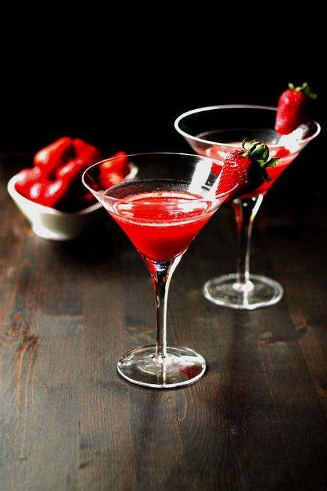 martini strawberry vegas strawberry martini