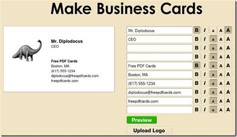 How To Make Your Business Cards For Free
