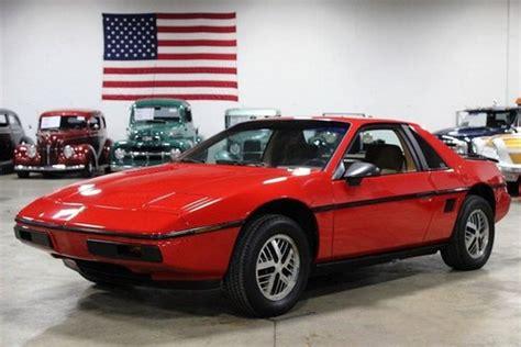 1984 pontiac fiero gt pontiac fiero for sale hemmings motor news