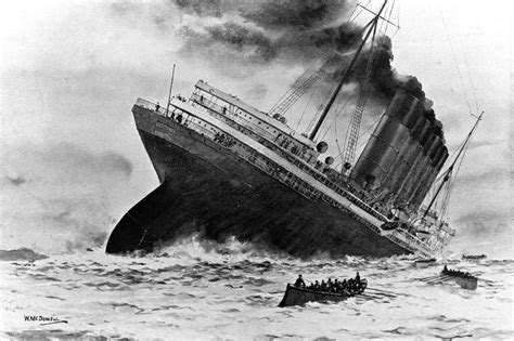 Sinking Of The Rms Lusitania the sinking of the rms lusitania paranoia magazine