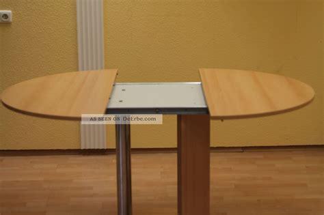 tisch zum ausziehen runder tisch zum ausziehen integrierte platte zum anstecken