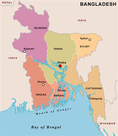 map of bangladesh map of bangladesh divisions and districts maps