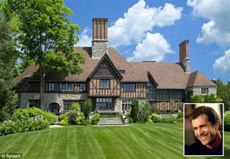 style mansions mel gibson s tudor style mansion in greenwich hooked on