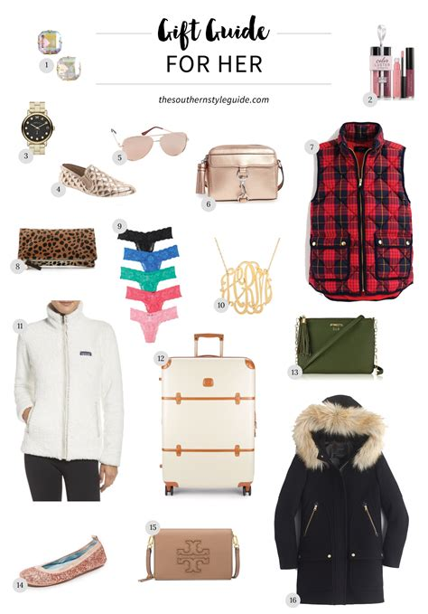 trendy gifts for her 2016 gift guide for her the southern style guide