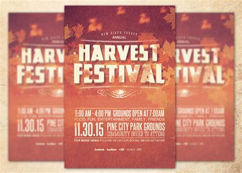 Harvest Festival Church Flyer Template Inspiks Market Harvest Festival Flyer Free Template