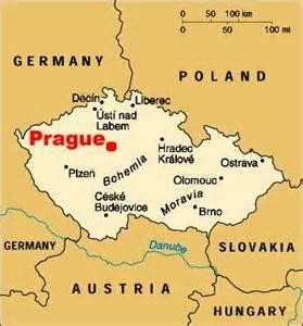 Prague World Map by Czech Republic Topnews
