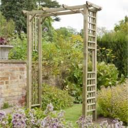 Garden Arch Forest Garden Berkley Arch Trellis Side Panels Square Top