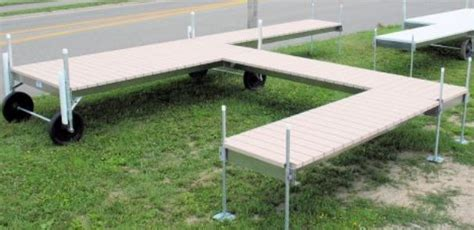 Sectional Docks by Expand Your Space With Post Sectional Docks V Dock R D Manufacturing Inc