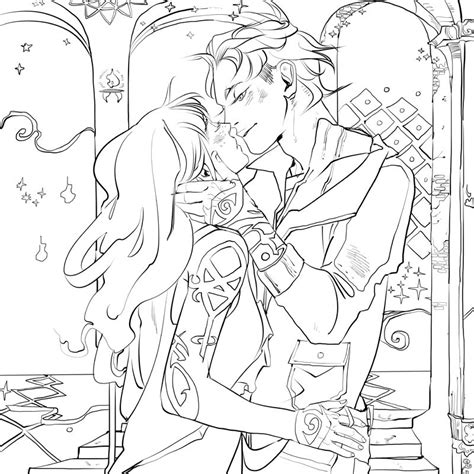 mortal instruments coloring pages page from the tmi colouring book clarissa clary fray