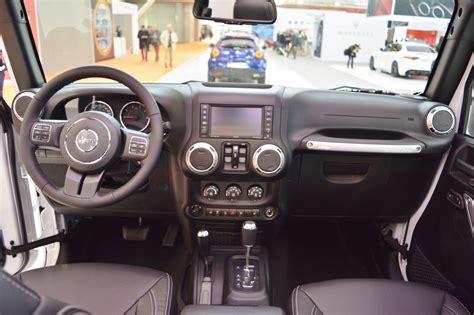 rubicon jeep 2016 interior 2016 wrangler spyshots autos post