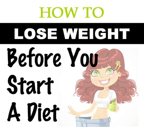 How To Detox Before You Start A Diet by How To Lose Weight Before You Even Go On A Diet