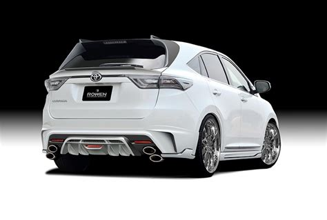Japan Toyota Harrier Rowen Japan Toyota Harrier Is Jdm Crossover Couture
