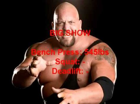 top 10 strongest wwe wrestlers bench press numbers youtube