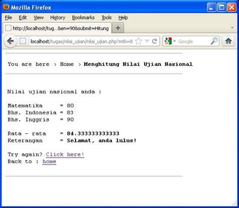 membuat hyperlink php membuat program menu dengan php menggunakan switch case
