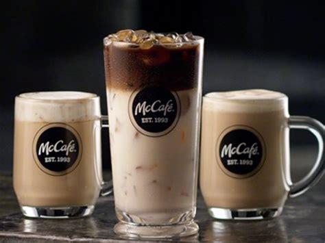 Coffee Mcd mcdonald s coffee menu threatens dunkin donuts analyst