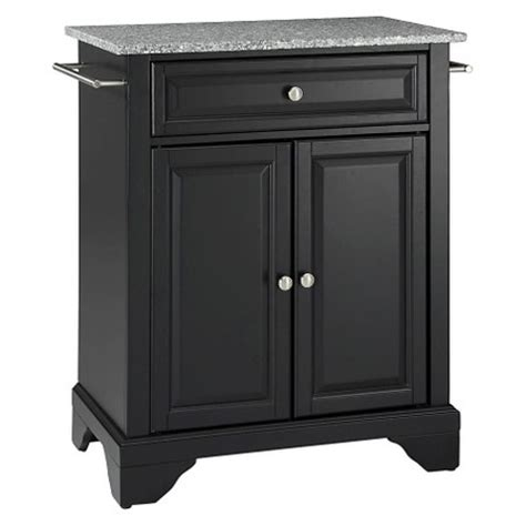 portable kitchen island target lafayette solid granite top portable kitchen island