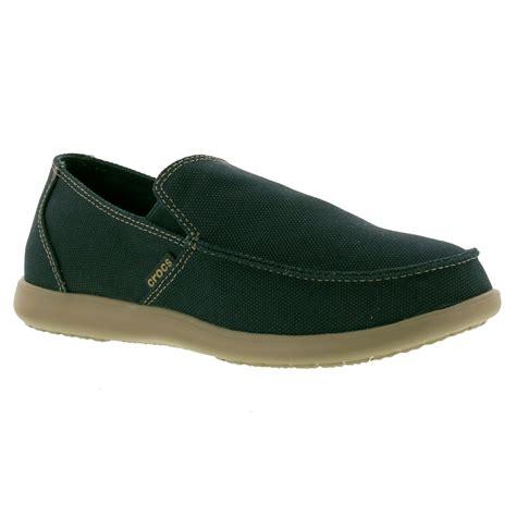 Crocs Loafer crocs santa clean cut loafer mens blue slip on shoes