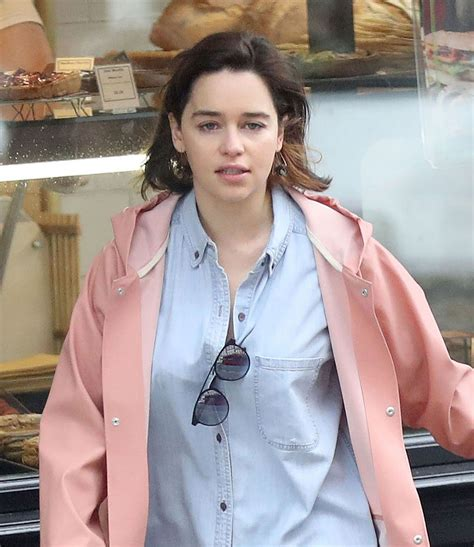 emilia clark emilia clarke out and about in london 05 18 2017