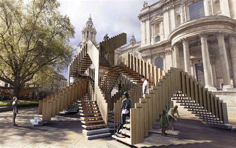 House Architecture Design Online by Mc Escher Inspires St Paul S Installation Design