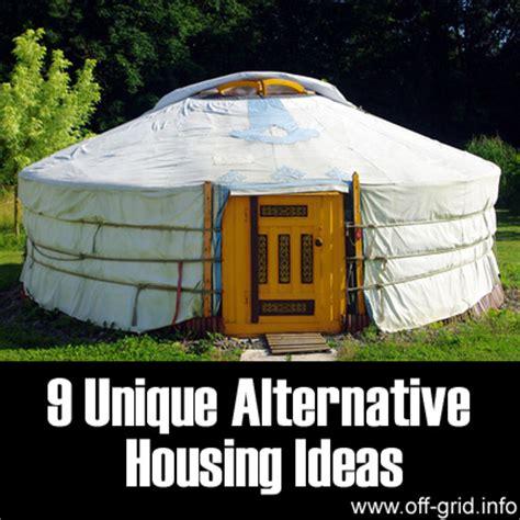 alternative housing 9 unique alternative housing ideas survival spot autos post