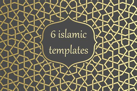 islamic web pattern islamic arabic gold pattern template patterns creative