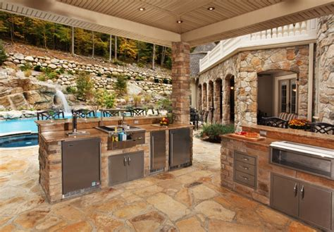beautiful outdoor kitchens 18 outdoor kitchen designs ideas design trends
