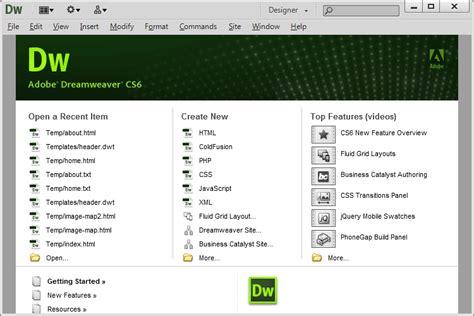 video tutorial dreamweaver cs6 โปรแกรมดาวน โหลดฟร adobe dreamweaver cs6 portable