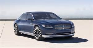 new continental car new lincoln continental coming in 2016 official