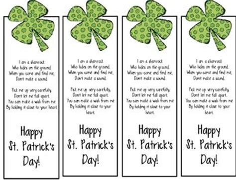 printable irish bookmarks search results for spring printable bookmarks calendar