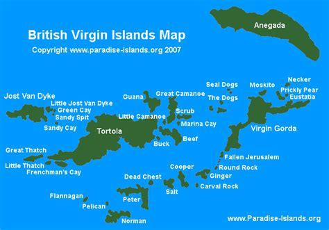 cartes des iles virgin virgin islands maps