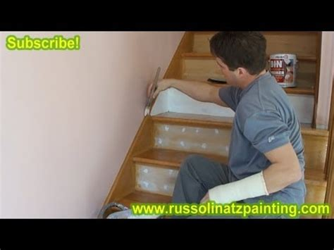 diy refinish paint hardwood stairs that were carpeted