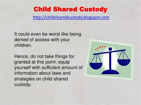 Gets Visitation But Not Custody by Child Shared Custody Shared Child Custody For Parents