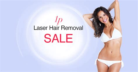 laser hair removal sale buy one get one for 1p