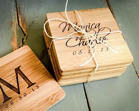 6 Personalized Gifts Your Bridal Party & Guests Will Love