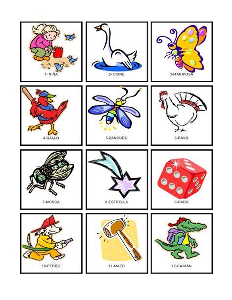 loteria de ninos para imprimir loter 237 a correcta