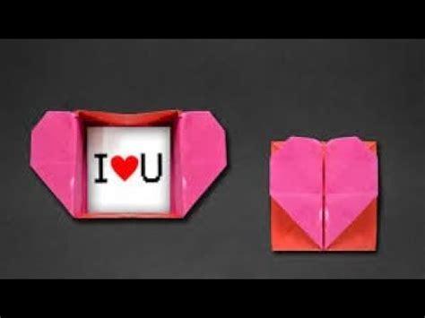 Can You Make Origami With Regular Paper - origami kalpli kutu yap箟m箟