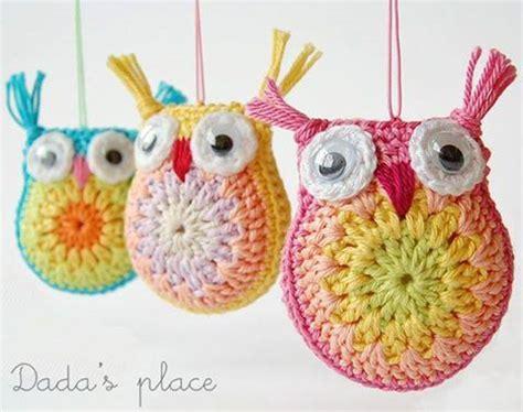 easy crochet christmas crafts owl crochet pattern crafts