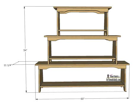 Book Shelf Bench by Remodelaholic Stacked Bench Bookshelf