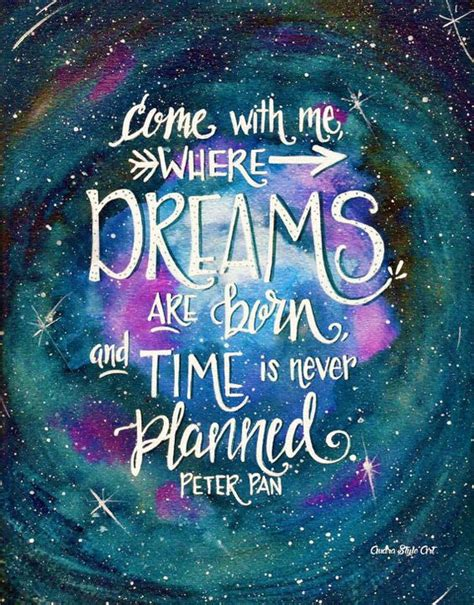 acrylic paint quotes nursery decor childrens pan dreams painting