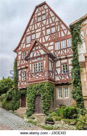 moderne fachwerkhäuser timber frame houses in the town of bad wimpfen in