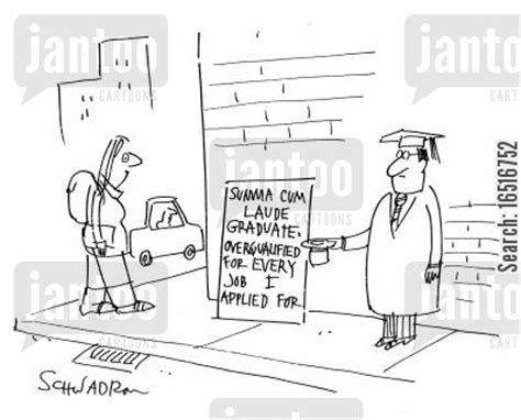 Overqualified For Mba by Unemployment Levels Humor From Jantoo