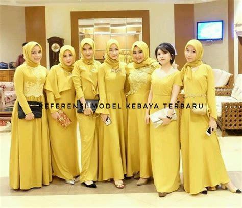 model gaun kondangan warna kuning ? Specialist Kebaya Gaun