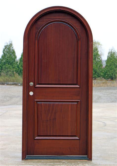 Arch Top Exterior Doors Front Doors 2 Panel Designer Doors